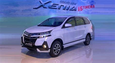 Review Daihatsu Grand Xenia by Daihatsu Xenia Facelift 2019 Diluncurkan Ini Perubahan