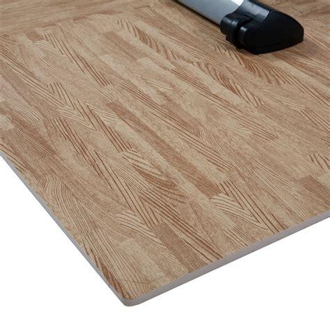 hardwood flooring hammer buy finnlo by hammer floor mat with wood look puzzle mat