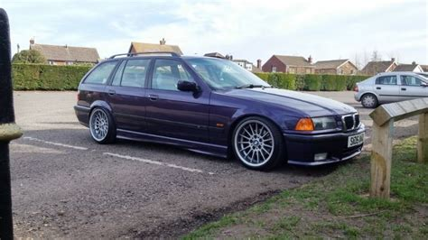 Great savings & free delivery / collection on many items. Techno violet BMW e36 touring on OEM BMW Styling 32 wheels ...