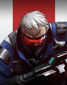 Overwatch Fanart: Soldier 76 by Zerahoc on DeviantArt