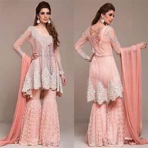 Pakistani Engagement Dresses For Brides In 2018 | WeddingPace