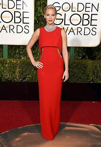 Jennifer Lawrence's Golden Globes 2016 Red-Carpet Dress ...