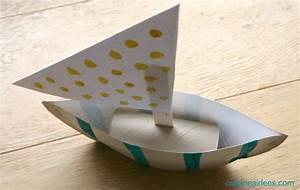 Faire Un Thé Glacé : comment fabriquer un bateau dans une assiette en carton ~ Dode.kayakingforconservation.com Idées de Décoration