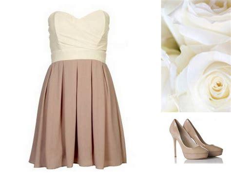 Style, Inspiration, & Design Beige Color Blocked Dress
