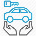 Icon Owner Automobile Outline Icons Thick Insurance