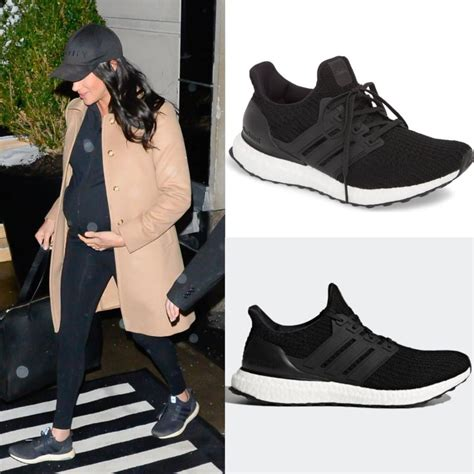 adidas black ultraboost running shoes meghan markle