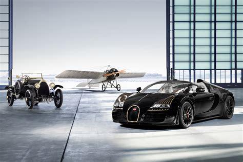 Bugatti Veyron Black Bess Mixes Gold Aviation And