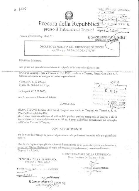 nomina avvocato d ufficio la realt 224 di giuseppe picone medaglia d oro al merito di