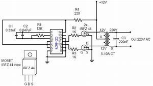 Dc    Ac Voltage Inverter 12v For 110
