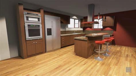 Vortek Spaces  Kitchen Design Walkthrough (sketchup