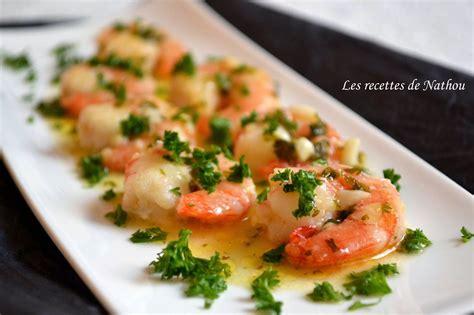cuisiner crevettes gambas à l 39 ail citron et pastis par ma cuisine au fil de