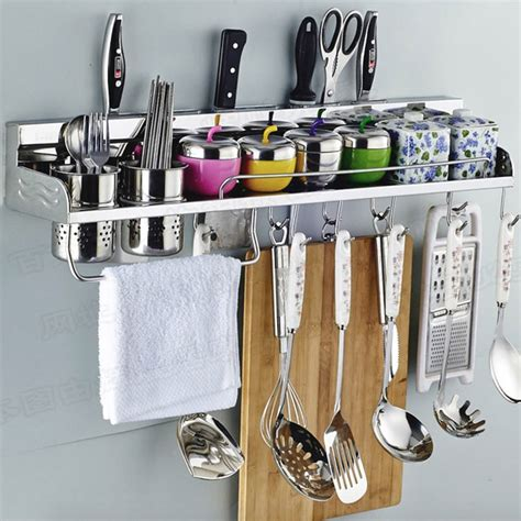 kitchen utensils organizer aliexpress buy 304 stainless steel kitchen rack 3426