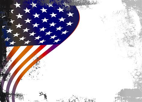 Border Background Images by American Flag Grunge Border Free Stock Photo