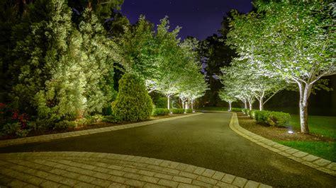 elegant landscaping stone  lighting harding township