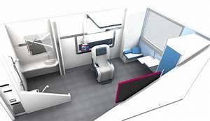 Lit Du Futur : la chambre d h pital du futur est devenue r alit archibat mag ~ Melissatoandfro.com Idées de Décoration