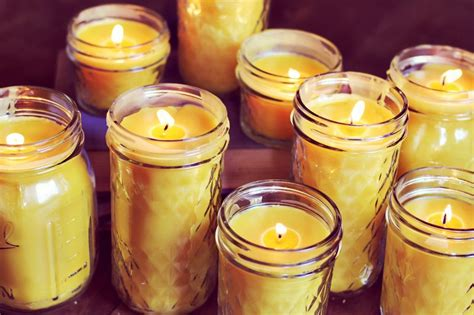 Candles For Home Decor: How To Make Beeswax Candles