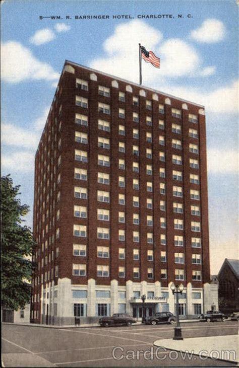 barringer hotel charlotte nc
