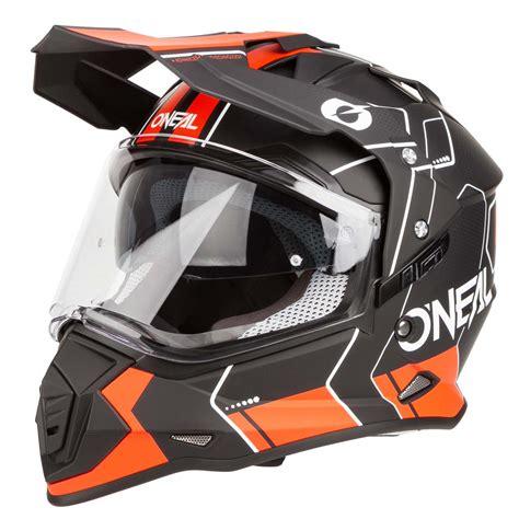 o neal helm o neal helm ii comb schwarz orange maciag offroad