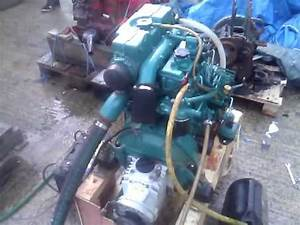 Volvo Penta Md2040d 39hp Marine Diesel Engine