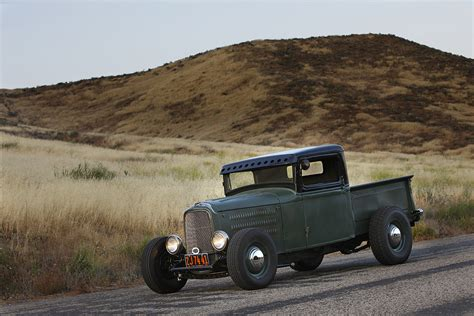Hot Rods That Haul Ford Rod Pickup Myrideisme