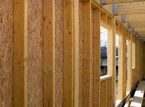 Mur En Osb : bois de construction panneau osb comptoir des bois ~ Melissatoandfro.com Idées de Décoration