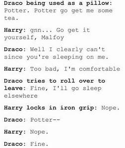 i mean if you s... Drarry Fanfiction