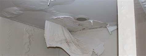 water damage ceiling fix water source repair