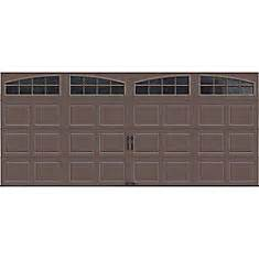 16 Ft Garage Door by Clopay Gallery Collection 16 Ft X 7 Ft Intellicore