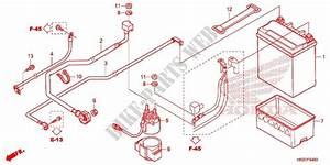 Wire Harness  Battery For Honda Fourtrax 420 Rancher 4x4 Es