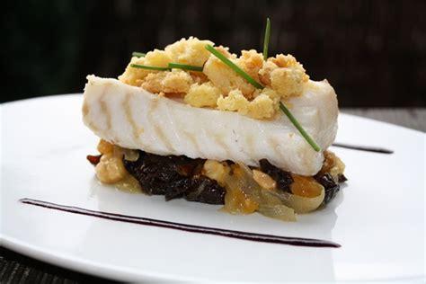 cuisine du poisson crumble de cabillaud aux fruits secs
