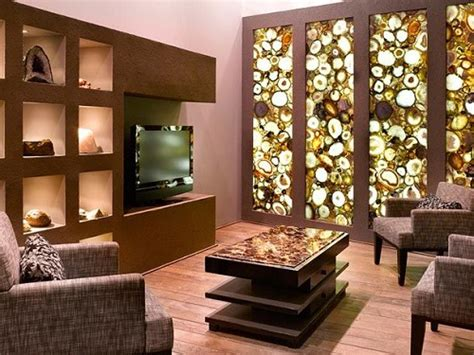 home decor trends  agate geode  rock  homes