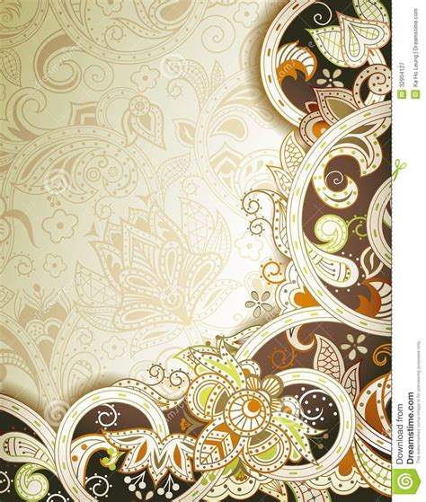 13189 indian wedding photography backgrounds abstract chocolate floral background stock illustration