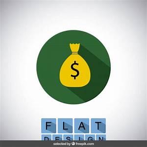 Money bag icon Vector | Free Download