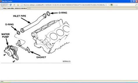 Chrysler Cirrus Water Tube Replacement Engine