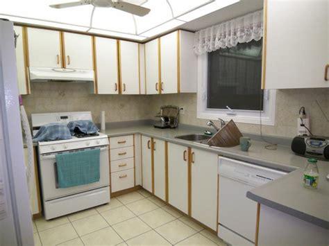 do the refinishing laminate kitchen cabinets at regular