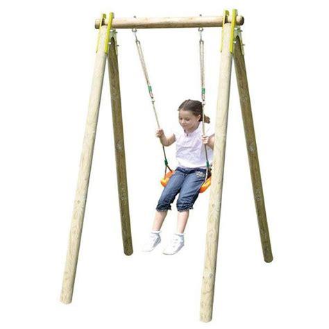 balançoire bois trigano natura 1 90 m 1 enfant trigano store