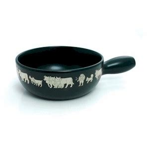 caquelon swiss cheese fondue pot only black cow buy