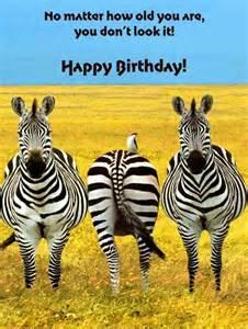 Funny Animal Happy Birthday Card