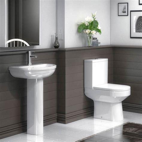 metro  piece modern bathroom suite victorian plumbing