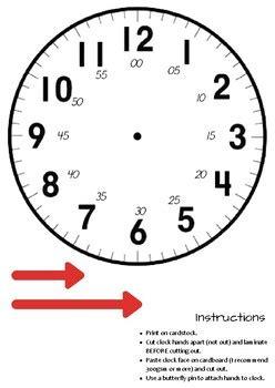 learn   time montessori clock cards