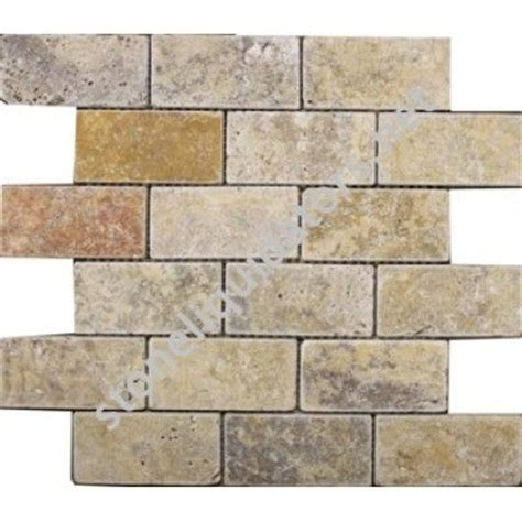 scabos travertine wall tile 2 quot x 4 quot scabos travertine subway tile tumbled wall tile