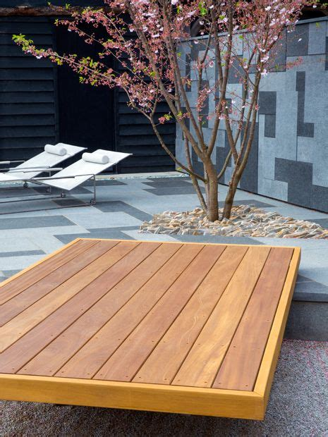 garden decking designs contemporary outdoor space