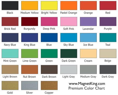 premier color color chart