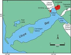 Location Map Of Lituya Bay  Alaska