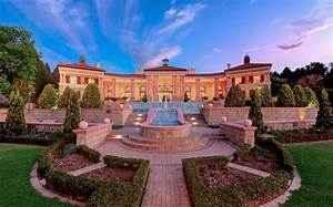 Incredible Mega Mansion In Johannesburg   South Africa