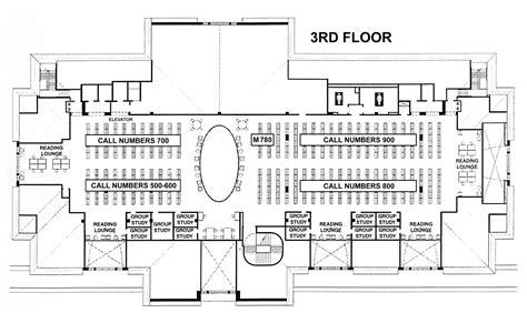 elon university belk library floor plans