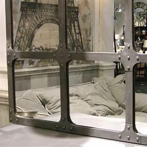 1000 idees sur le theme miroir industriel sur pinterest With charming meubles tv maison du monde 10 miroir de style industriel design