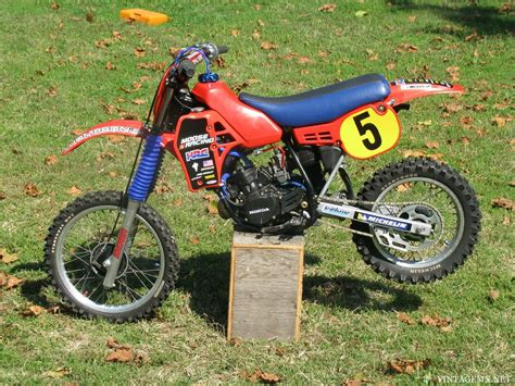 1984 Honda Cr80 I Put This Together For My Boys, Took