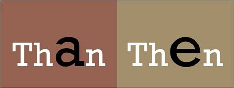 Difference Between Than and Then (with Examples and ...