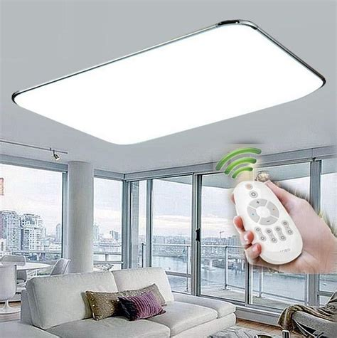 remote control surface mounted modern led ceiling lights  living room bedroom led light